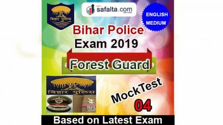 Bihar Police Forest Guard Mock Test 04 In English