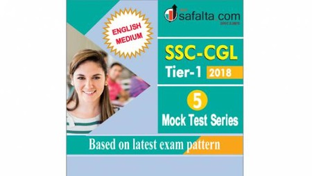 SSC CGL Tier-I 5 Mock Test Series English