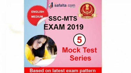 Buy SSC MTS Paper-I 05 Mock Test Series In English @ safalta.com