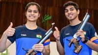 ISSF junior World Cup Manu Bhaker, Anmol Win Air Pistol Mixed Gold