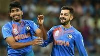 Virat Kohli, Jasprit Bumrah topped the ICC Rankings