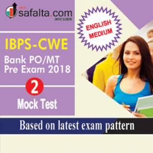 IBPS- CWE Bank PO/MT Pre Exam Mock Test-2 English