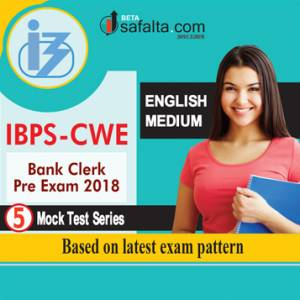 IBPS Clerk Mock Test Series