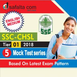 SSC CHSL Pre Mock Test Series
