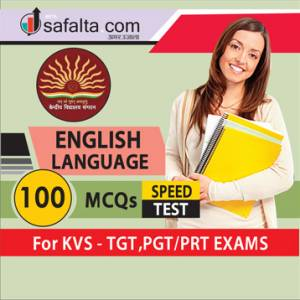 KVS English Language For TGT, PGT/PRT