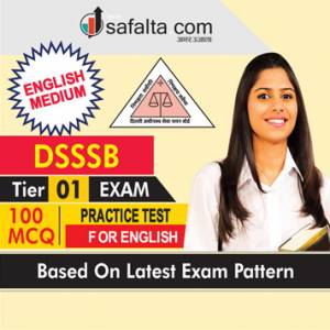 DSSSB Tier-1 Exam Practice Test For English