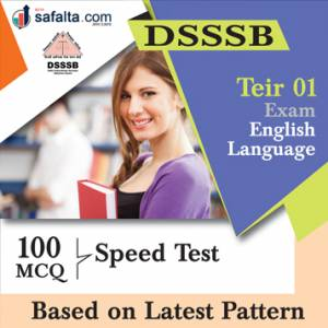 DSSSB English Language Practice Questions
