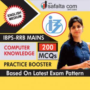 Computer Knowledge Practice Booster For IBPS RRB Mains In English