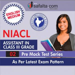 NIACL Assistant In Class III Cadre Exam 02 Mock Test Series in English