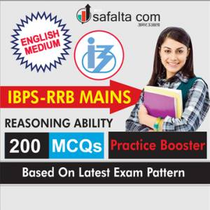 Reasoning Ability Practice Booster For IBPS RRB Mains In English