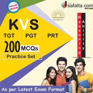 Buy Latest KVS TGT / PGT / PRT Recruitment Exam Reasoning Ability Practice Sets Online In English