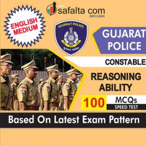 Buy Reasoning Ability Speed Test for Gujarat Police Constable Exam 2018