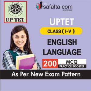 Buy English Language Practice Set for UPTET Class (I-V) Exam 2018