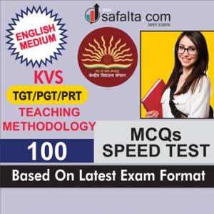 Buy Latest KVS TGT/PGT/PRT Recruitment Exam Teaching Methodology Speed Test Online