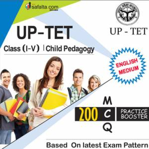 Buy UPTET Class (I-V) Child Pedagogy Practice Set Online @ Safalta.com