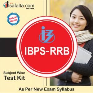 Buy Complete Practice Test Kit for IBPS RRB Exam 2018 @ Safalta.com