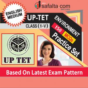 Buy UPTET Class (I-V) Exam Practice Set for Environment Study