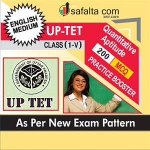 Buy Quantitative Aptitude Practice Set For UPTET Class (I-V) @ Safalta.com