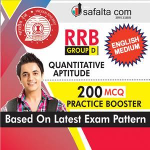 Buy RRB Group D 2018 Exam Practice Set for Quantitative Aptitude