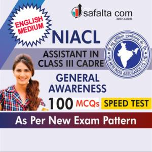 Buy NIACL Assistant in Class III Cadre Exam Speed Test for General awareness