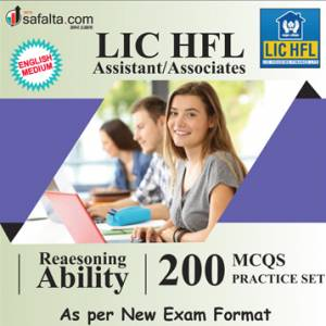 Buy LIC HFL Assistant/Associate Exam Reasoning Ability Practice Set