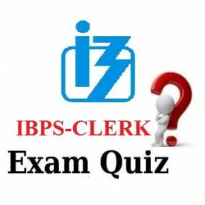 IBPS Clerk Quiz