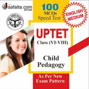 Buy Speed Test UPTET Class (VI-VIII) for Child Pedagogy Subject