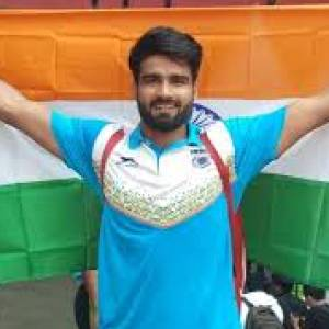 जैवलिन थ्रोअर संदीप ने एशियाई पैरा खेलों में भारत को दिलाया पहला गोल्ड