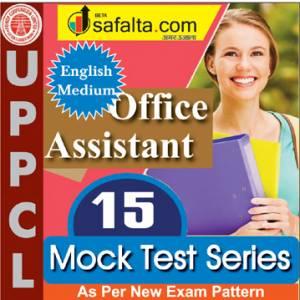 Buy UPPCL Office Assistant 15 Mock Test Series @ Safalta.com