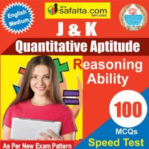 Top 100 Mcqs Quantitative Aptitude For J&K PO @ safalta.com