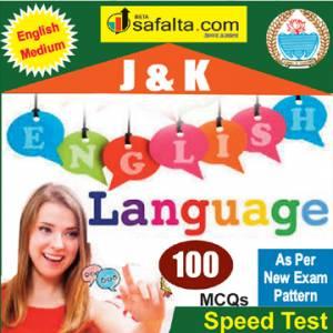 Top 100 Mcqs English Language For J&K PO @ safalta.com