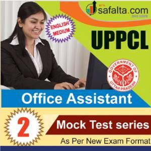 Buy UPPCL Office Assistant 02 Mock Test Series @ Safalta.com