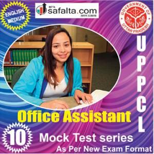 Buy UPPCL Office Assistant 10 Mock Test Series @ Safalta.com