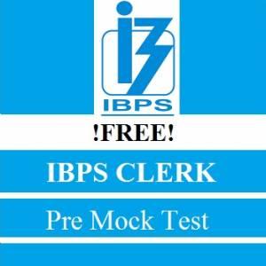 IBPS Clerk Pre Mock Test (Free)