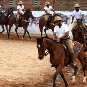 UP Police Horsemen