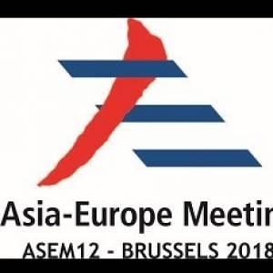 The 12th Asia-Europe Meeting (ASEM) summit held in Belgium.