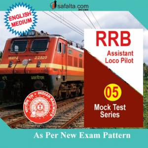 Buy RRB ALP 5 Mock Test Series 2018 Online @ Best Price