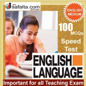 Top 100 Mcqs English Language For All Teaching Exam @ safalta.com