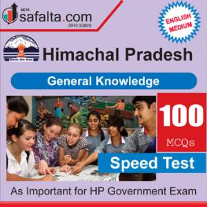 Top 100 Mcqs Himanchal Pradesh General Knowledge is important for the upcoming exam.