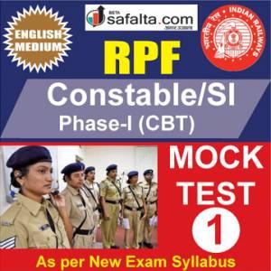 RPF Constable/SI Online Mock Test 1 @ Safalta.com