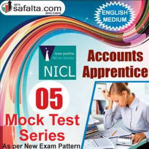 Buy NICL Accounts Apprentices Online 05 Mock Test Series @ Safalta.com