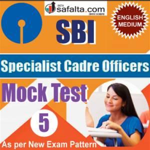 SBI SCO Mock Test 5
