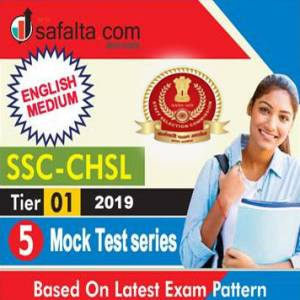 SSC CHSL Tier-I 05 Mock Test Series English