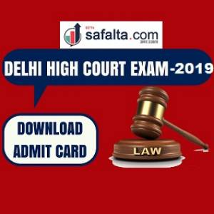 Delhi High Court Admit Card