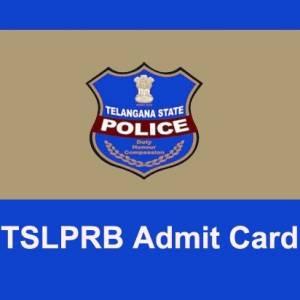 TSLPRB ADMIT CARD 2019