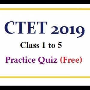 CTET 1 TO 5