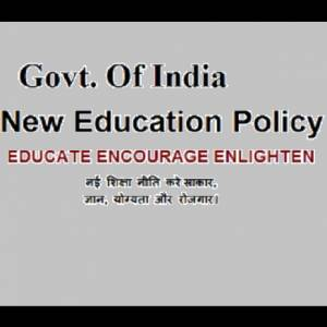 GOI NEW EDUCATION POLICY IN INDIA