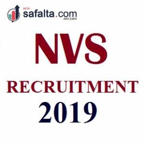NVS RECRUITMENT 2019