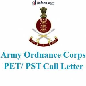 AOC PET/ PST Call Letter 2019