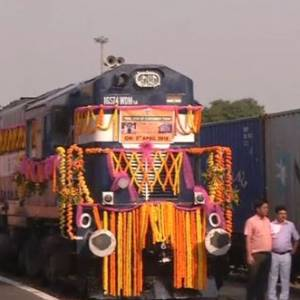 India Bangladesh Container Train